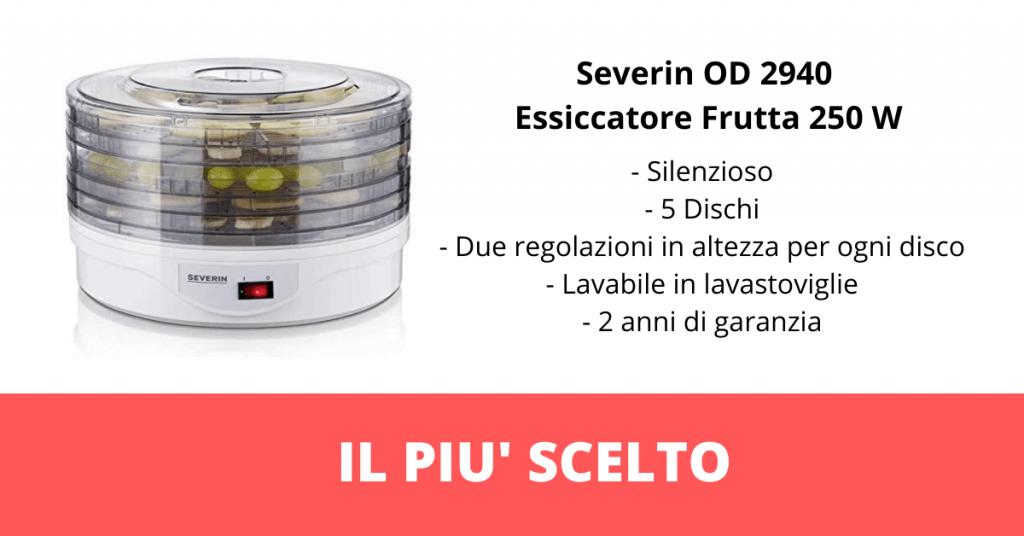 Essiccatore per alimenti Severin OD 2940