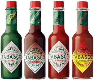 tabasco salsa varietà