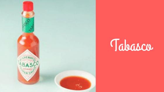 Salsa Tabasco: storia e ricette.