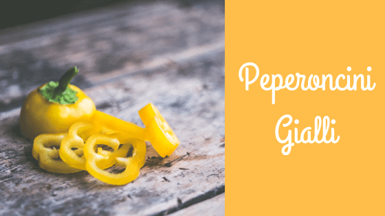 i peperoncini gialli più utilizzati